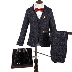 Boys Formal Blazer Vest Trouser 3 Piece Clothing Set by PickAProduct