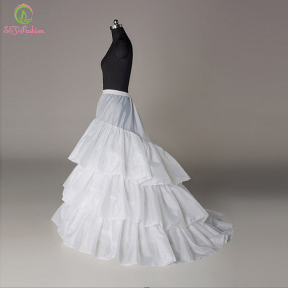 SSYFashion Bridal Petticoat Three Circles Underskirt - little-darling-fashion-online