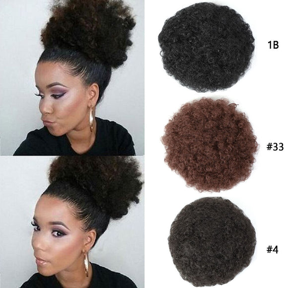 Puff Afro Synthetic Hair Extension Chignons/Bun by PickAProduct