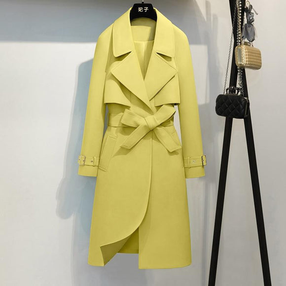 High Quality Yellow Office Lady Coat by Pick a Product