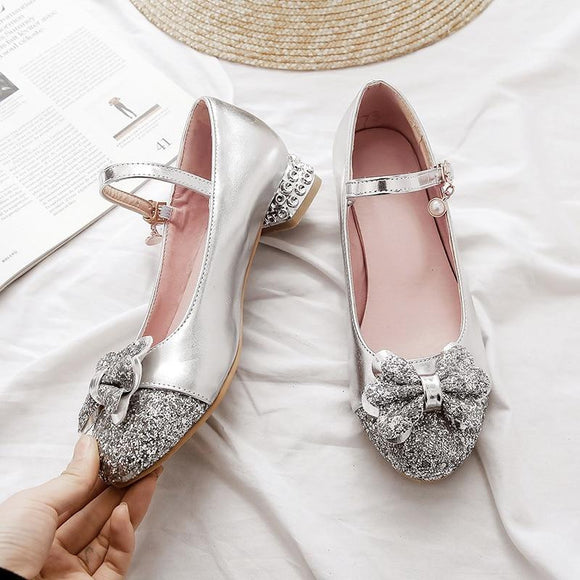 Comfortable Round Bowknot Pumps by Pick a Product