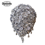 Kyunovia Cascading Teardrop Bouquet - little-darling-fashion-online
