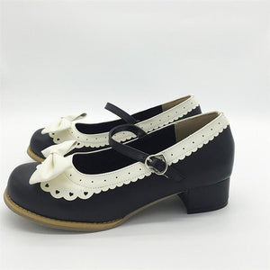 LIN KING Sweet Bowtie Mary Janes Women Pumps by Pick a Product