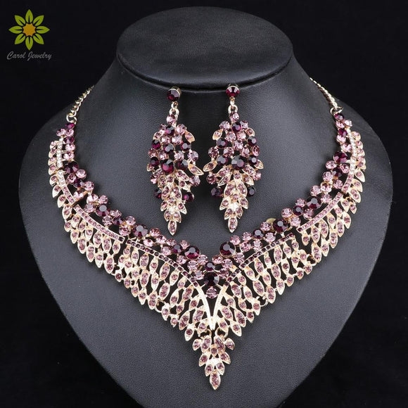 Leaf African Bridal Jewelry Sets for Women by Pick a Product