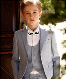 Light Grey Kid's 3 Piece Wedding Suits by Pick a Product