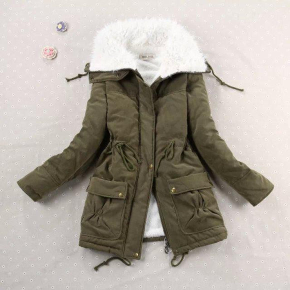 New 2019 Winter Coat Women Slim Plus Size Outwear by Pick a Product