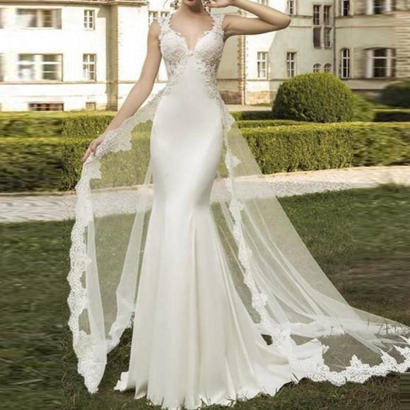 New Design Wedding Gowns Detachable Train Gorgeous by Pick a Product