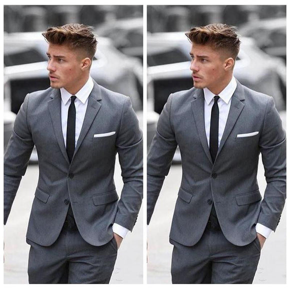 2019 Mens Two Pieces Business Suit