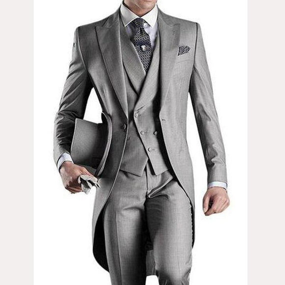 Groom Tuxedos Suit (Jacket+Pants+Tie+Vest)