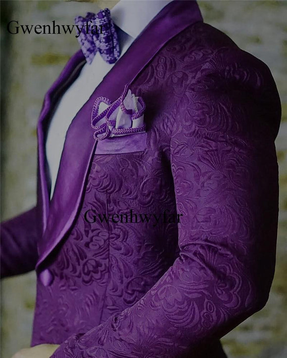Nina Suits 2018 Fashion Italian Design Purple