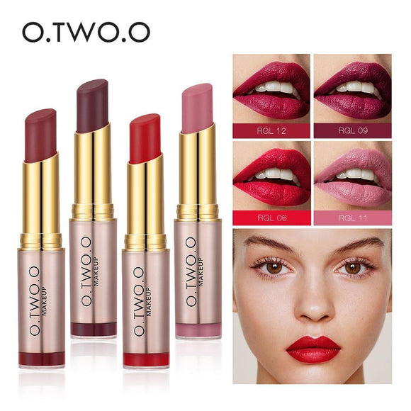 O.TWO.O Brand Makeup Lipstick Matte - little-darling-fashion-online