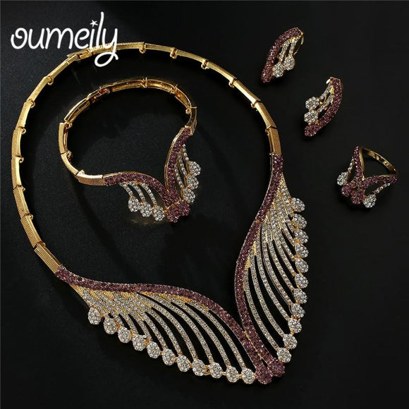 OUMEILY Fashion Jewelry Sets for Women - little-darling-fashion-online