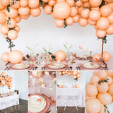 "50 Pcs 10"" Peach Balloons Party Decorations - little-darling-fashion-online"