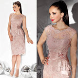 Pink 2019 Mother Of The Bride Dresses - little-darling-fashion-online