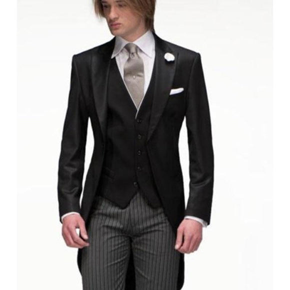 2019 Popular Mens Tuxedo (Jacket+Pants+Vest+Tie)