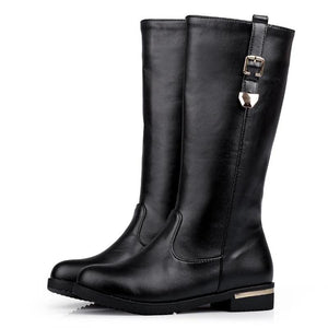 SIMLOVEYO Autumn Winter Women Mid-Calf Boots by Pick a Product