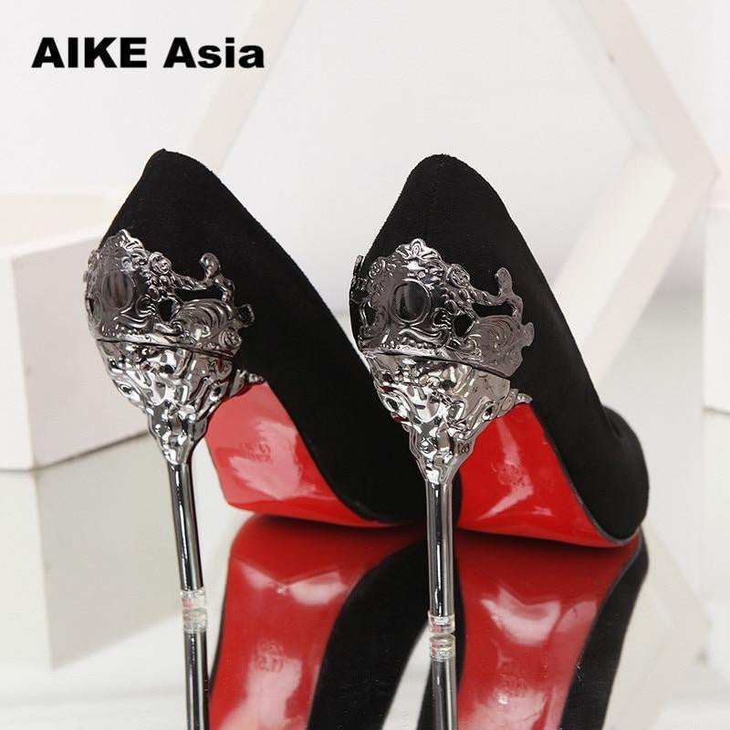 1a025e45a37 ... Sexy High Heels Shoes Woman Pumps Red Gold Silver High Heels Shoes  Woman Ladies Wedding Party ...