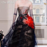 Sheer Tulle Gloves Wedding Bridal Gloves Elbow Long 9 Color Photo Shooting Accessory