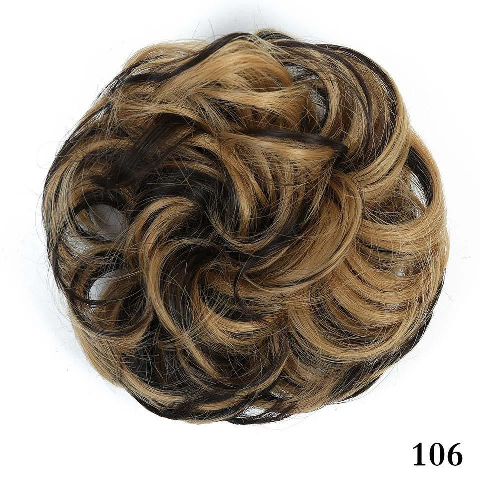 Short Curly Tail Chignons Hair Heat Resistant Synthetic Hair Rope