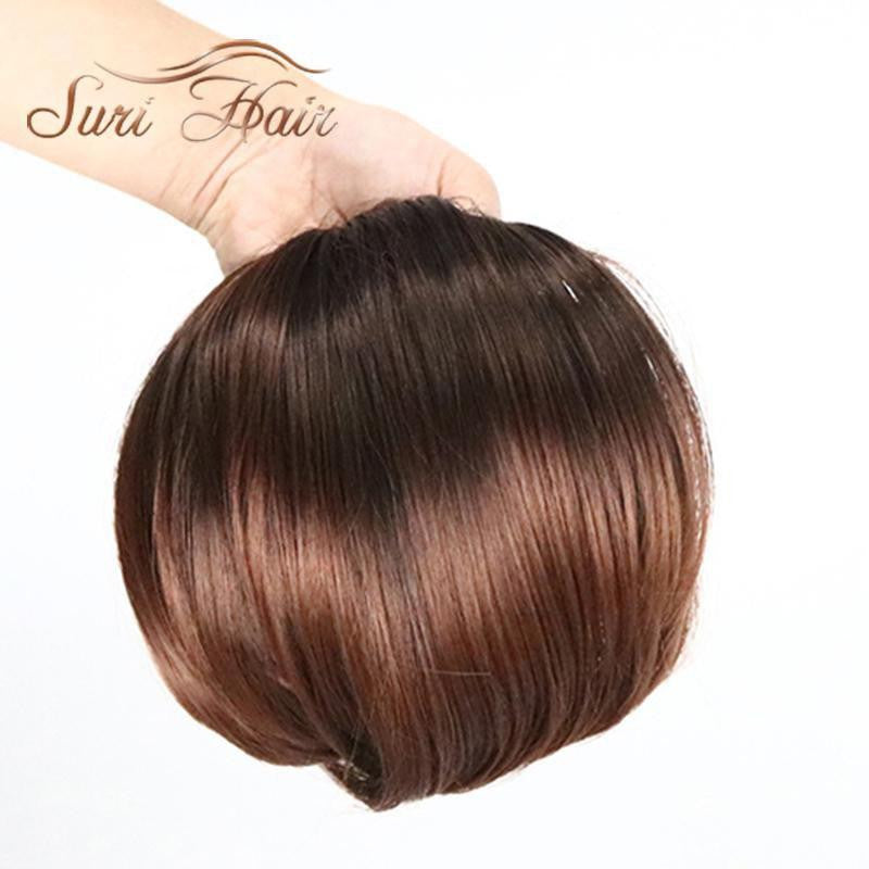 Suri Hair Clip In Ponytails Short Elastic String Pony Tail Frested