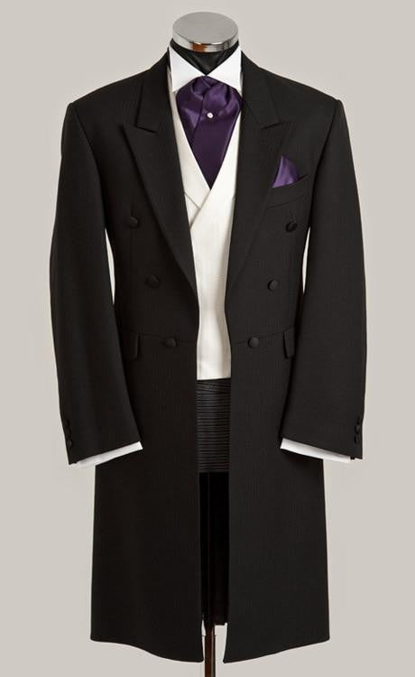 Tailcoat Style Mens Tuxedos (Jacket+Pants+Vest)