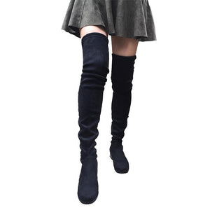 Thigh High Over the Knee Women's Flat Boots by Pick a Product