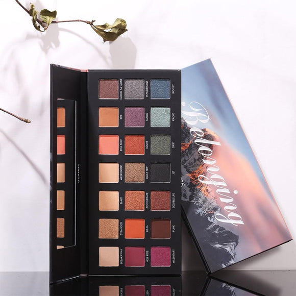 21 Color Eyeshadow Palette Nude Matte by Pick a Product