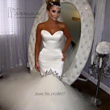 Vestido de Noiva Sereia Sexy White Wedding Gowns by Pick a Product