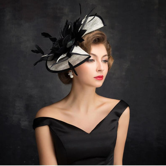 Vintage Black Wedding Bridal Hats for Women by Pick a Product