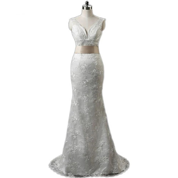 Vintage Vestido Lace Mermaid Wedding Dresses by Pick a Product