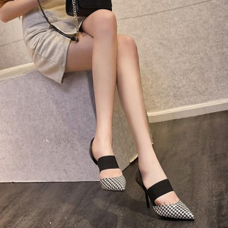 551e5b11a ... Women Shoes High Heels Brand Woman Pumps Spring Pointed Toe Black Ladies  Dress Shoes Heels Women ...