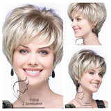parrucca perruque parrucche Marilyn Monroe Short blonde Wavy dark brown Cosplay  Peruca de cabelo Synthetic les perruques - little-darling-fashion-online