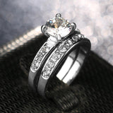 Fashion White Cubic Zirconia Women Wedding Ring by Pick a Product