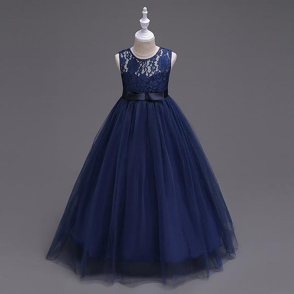 Princess Style Flower Girl Dress (1-14 Years)