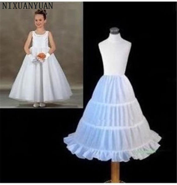 Flower Girl Petticoat Underskirt by Pick a Product
