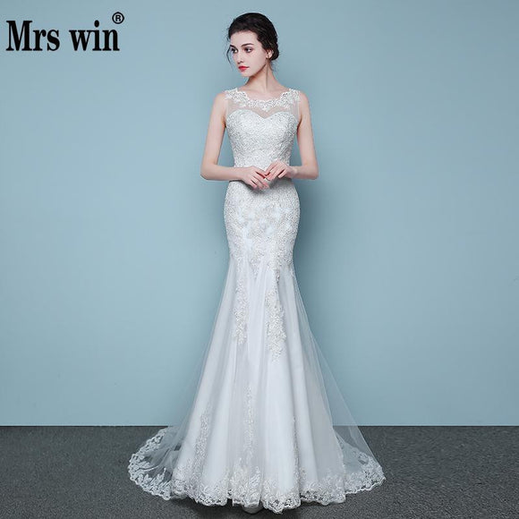 Elegant Beautiful Lace Mermaid Wedding Dress by Pick a Product