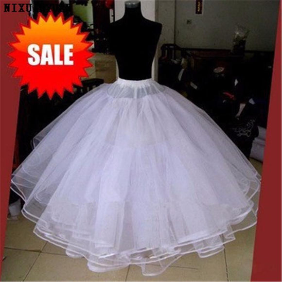 Best Sell White 3 Layers Hoopless Petticoat Underskirt - little-darling-fashion-online