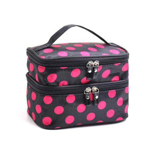 Polka Dot Makeup Bag by Pick a Product