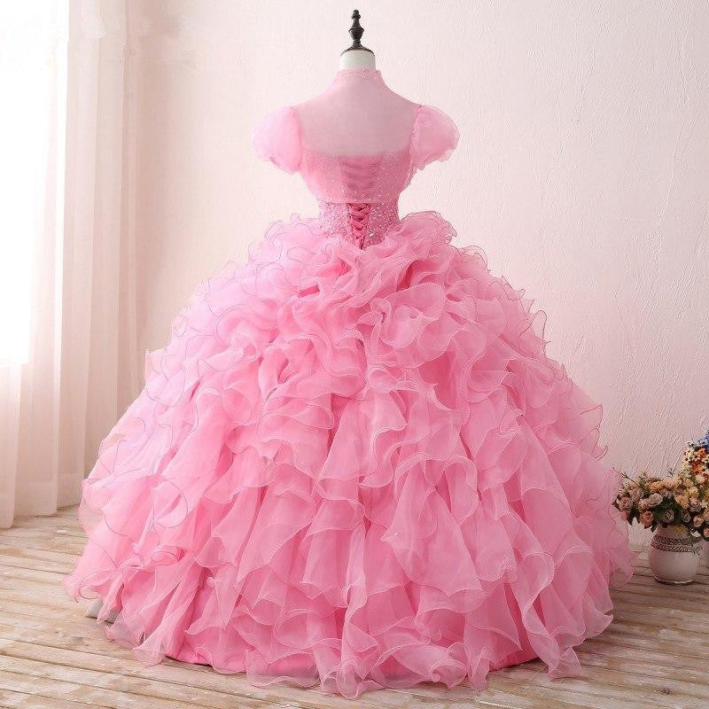 eceab50334a Pink Puffy 2019 Cheap Quinceanera Dresses by Pick a Product