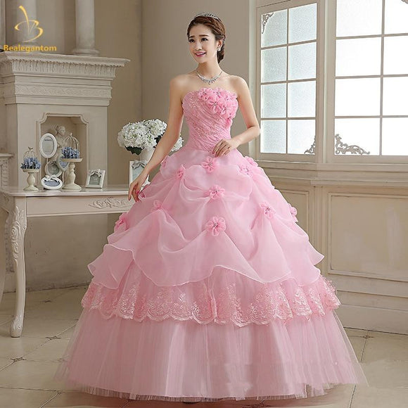 2019 Cheap Pink Quinceanera Dresses Ball Gown by Pick a Product