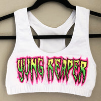 Custom Name Reaper Bra