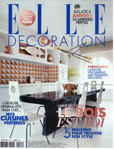 PARUTION - ELLE DECORATION OCTOBRE 2019