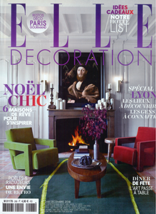 PARUTION - ELLE DECORATION - DEC 2018
