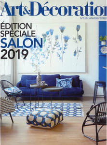 PARUTION - ART & DECORATION - JANV/FEVRIER 2019