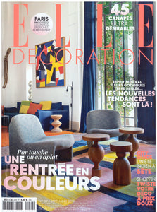 PARUTION - ELLE DECORATION SEPTEMBRE 2019