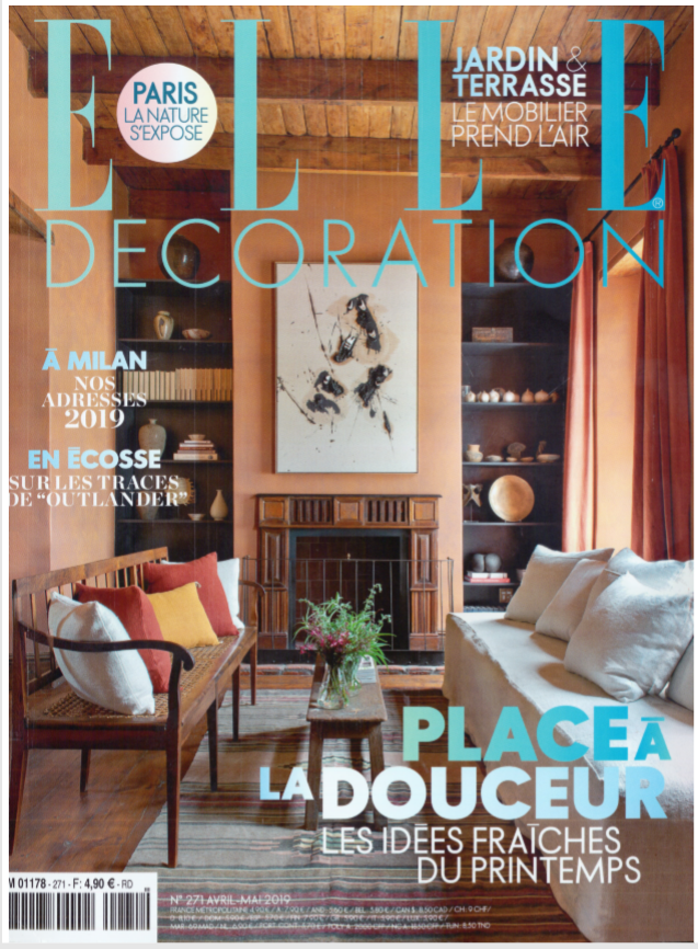 PARUTION - ELLE DECORATION AVRIL MAI 2019