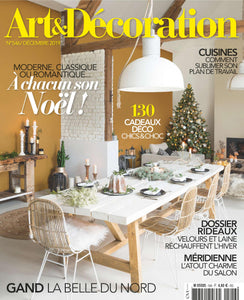 PARUTION - ART & DECORATION DECEMBRE 2019