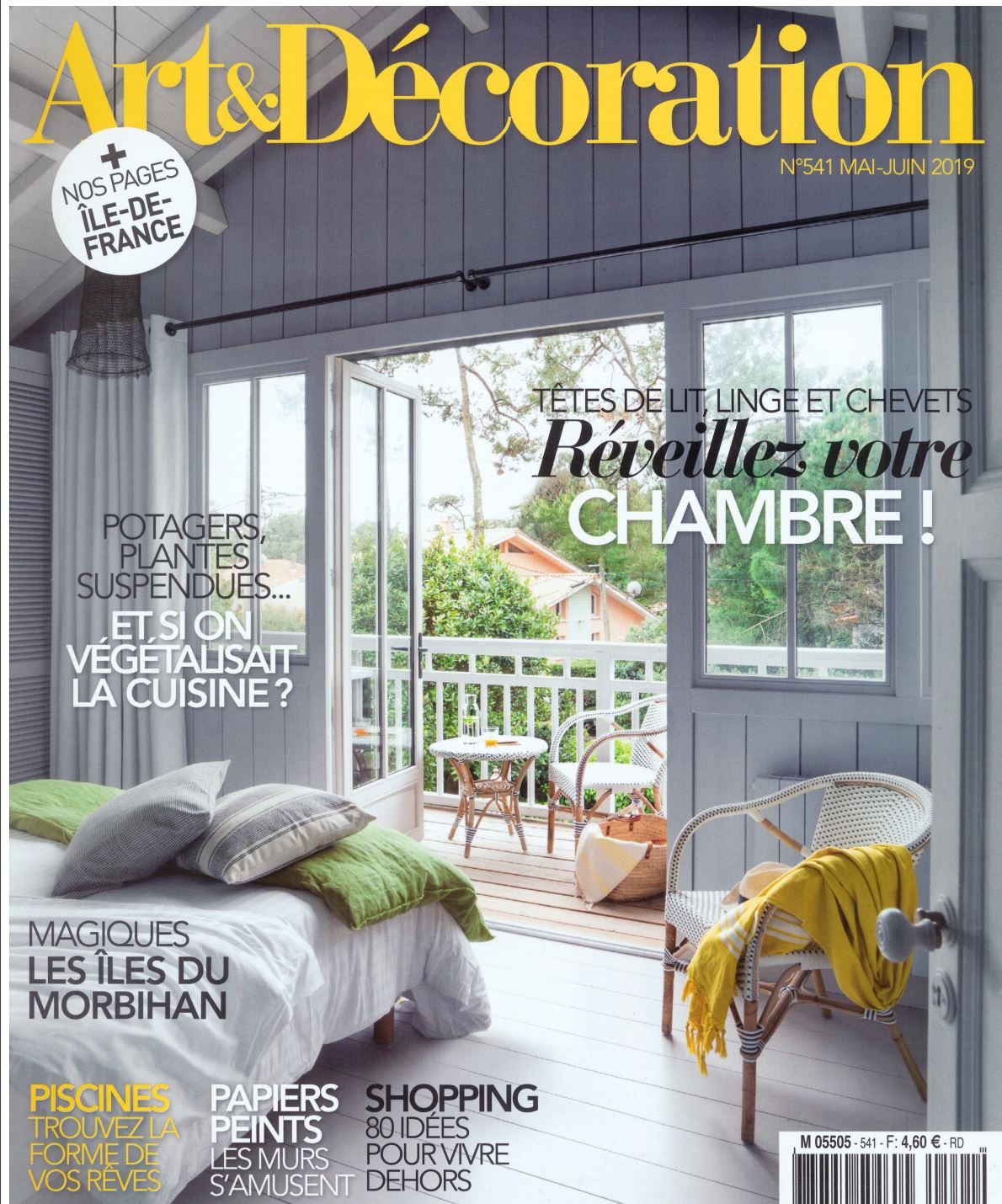 PARUTION - ART & DECORATION MAI JUIN 2019