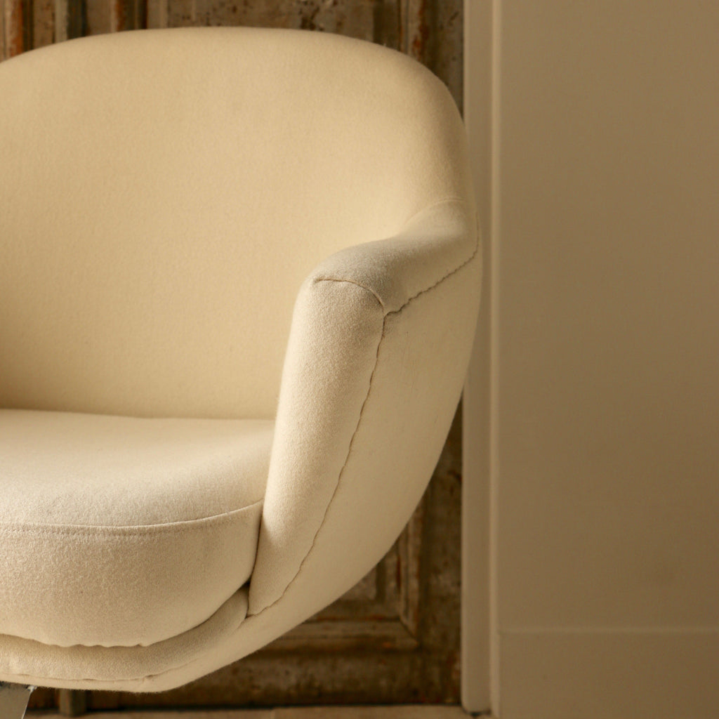 Fauteuil « Air France Boardroom » - Jacques Adnet - ZEBRES