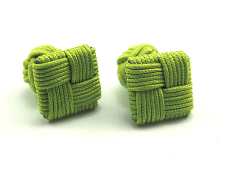 Silk Squares: Apple Green